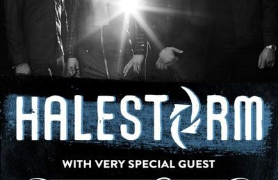 LIVE REPORT de NEW YEARS DAY / IN THIS MOMENT / HALESTORM à la Salle Pleyel Paris