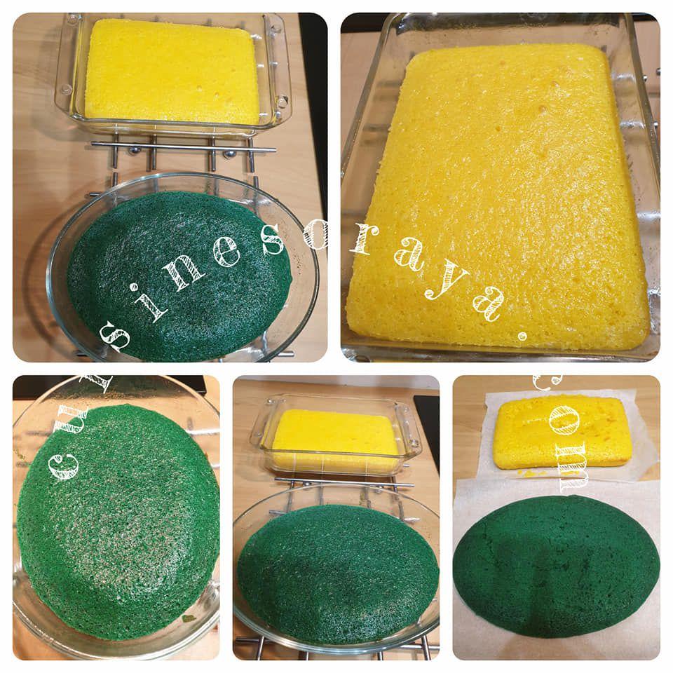 Trompe-l'oeil - Gâteau éponge