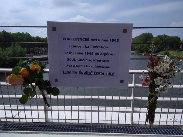 Devoir de mémoire - 8 mai 2017 - Pont Confluence