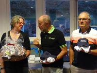 Récompenses le samedi soir à Roz Armor et une partie des organisateurs.