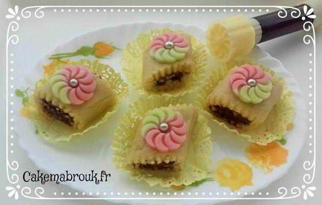 Kefta gâteau sans cuisson pâte d'amande