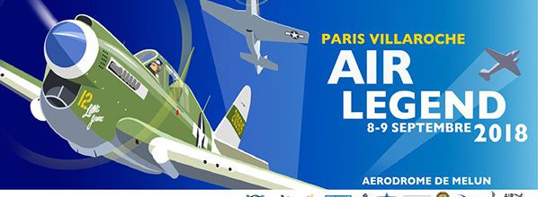 Meeting aérien à Melun 8-9 septembre : Paris-Villaroche Air Legend