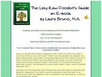 The Lazy Raw Foodists Guide