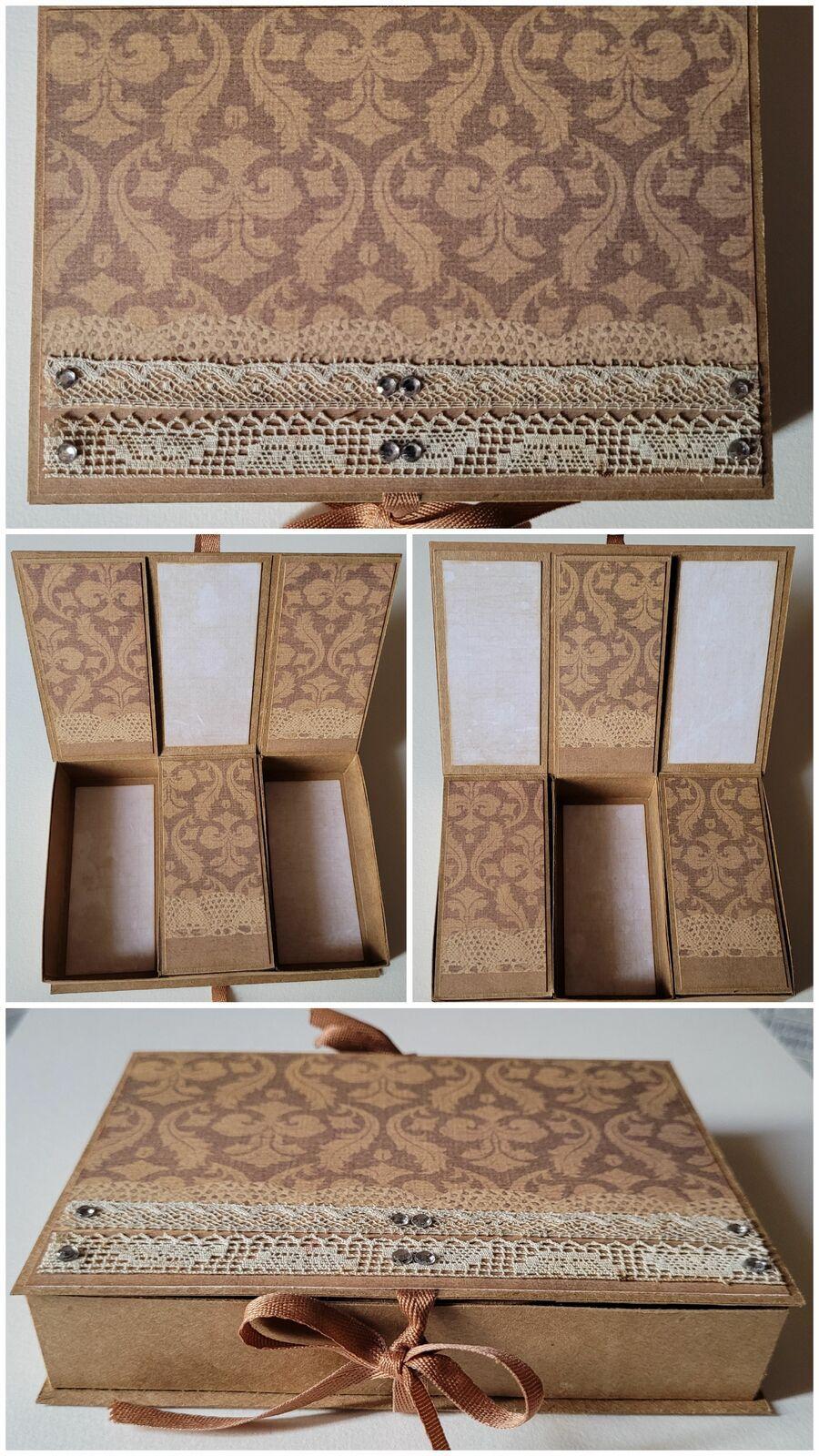 Boîte à double ouverture -3 compartiments