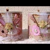 Idées de recyclage avec des boîtes de conserve