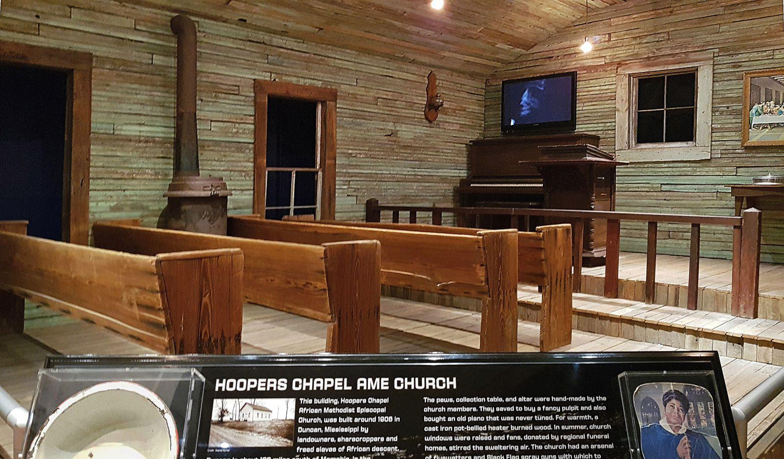 Memphis Stax museum Eglise