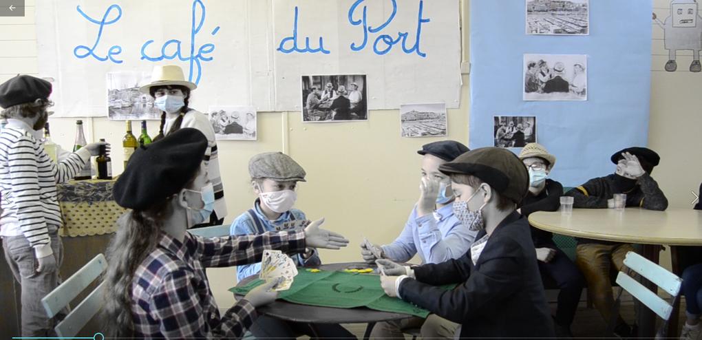 """Projet théâtre CM1 CM2 ULIS  : """"La partie de cartes """""""