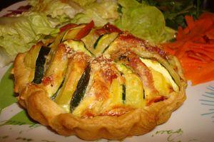 Tartelettes courgettes/pommes de terre
