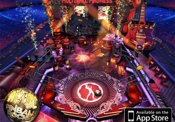 Mobile : AC/DC Pinball Rocks for iPhone and iPad