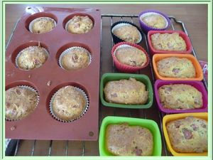 Mini-cakes jambon moutarde