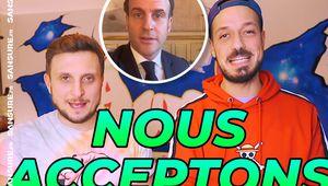 Le défi de Macron à McFly et Carlito étonne et passe mal ! (Vidéos) #McFly #Carlito #Macron