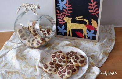 Recette des biscuits sablés léopard