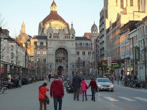 Bien arrivés à Anvers !