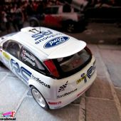 FASCICULE N°126 FORD FOCUS RS WRC01 MONTE CARLO 2001 IXO 1/43. - car-collector.net