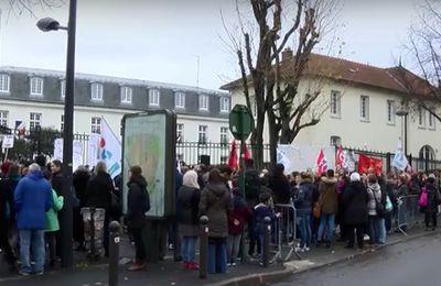 Mobilisation à Argenteuil 24 novembre