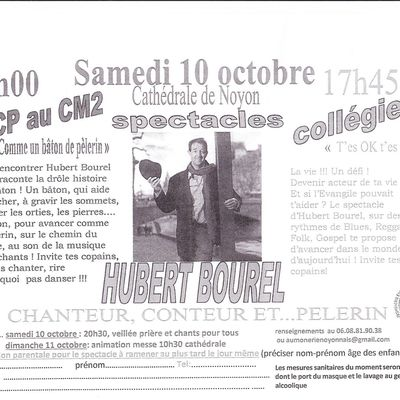 Spectacle Hubert BOUREL