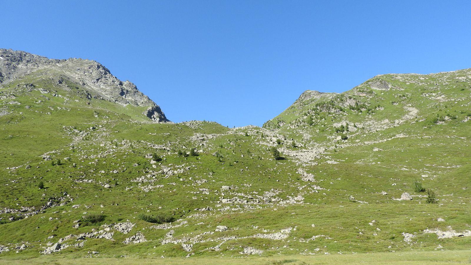 Vue sur le Col duVallon