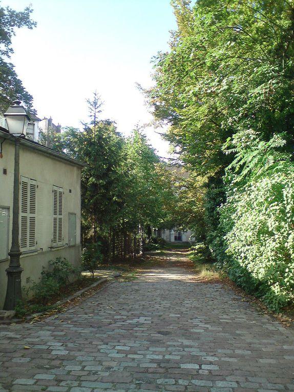 La Cité des artistes rue Norvins, Montmartre