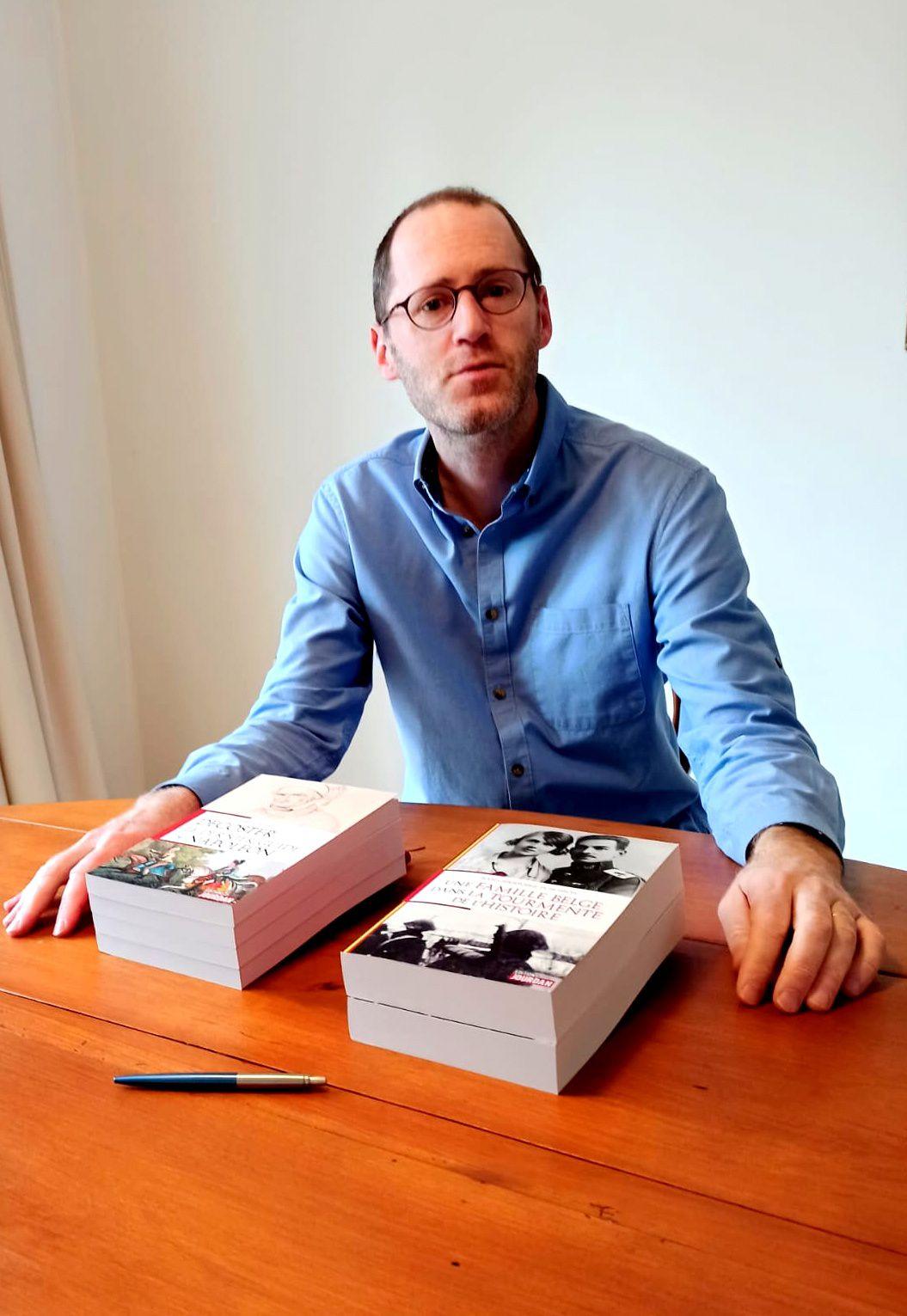 Portrait du jour : Jean-Christophe Dubuisson, enseignant et écrivain