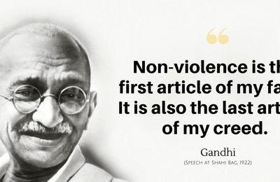 """Campus Maçonnique : Eric Vinson traitera """"Gandhi, la non-violence sauvera-t-elle le monde?"""" Mercredi 20 janvier 2021 à 19h30. A ne pas manquer !"""