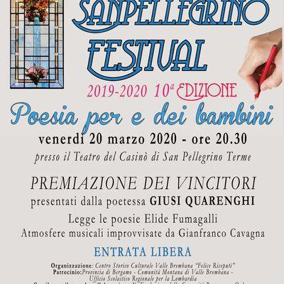 Sanpellegrino Festival 2019-20  X edizione
