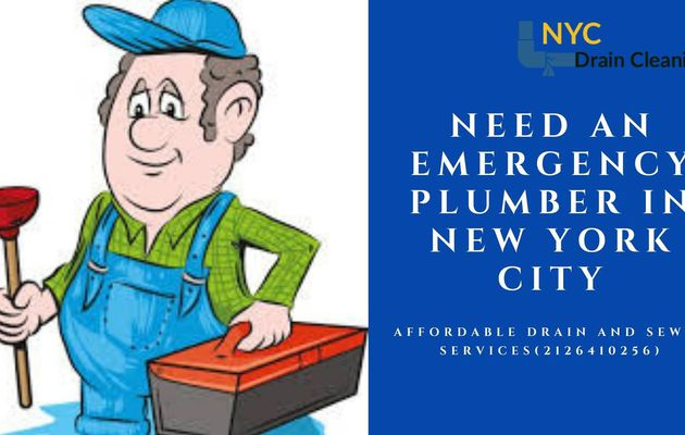 Why Do You Need an Emergency Plumber in New York City?