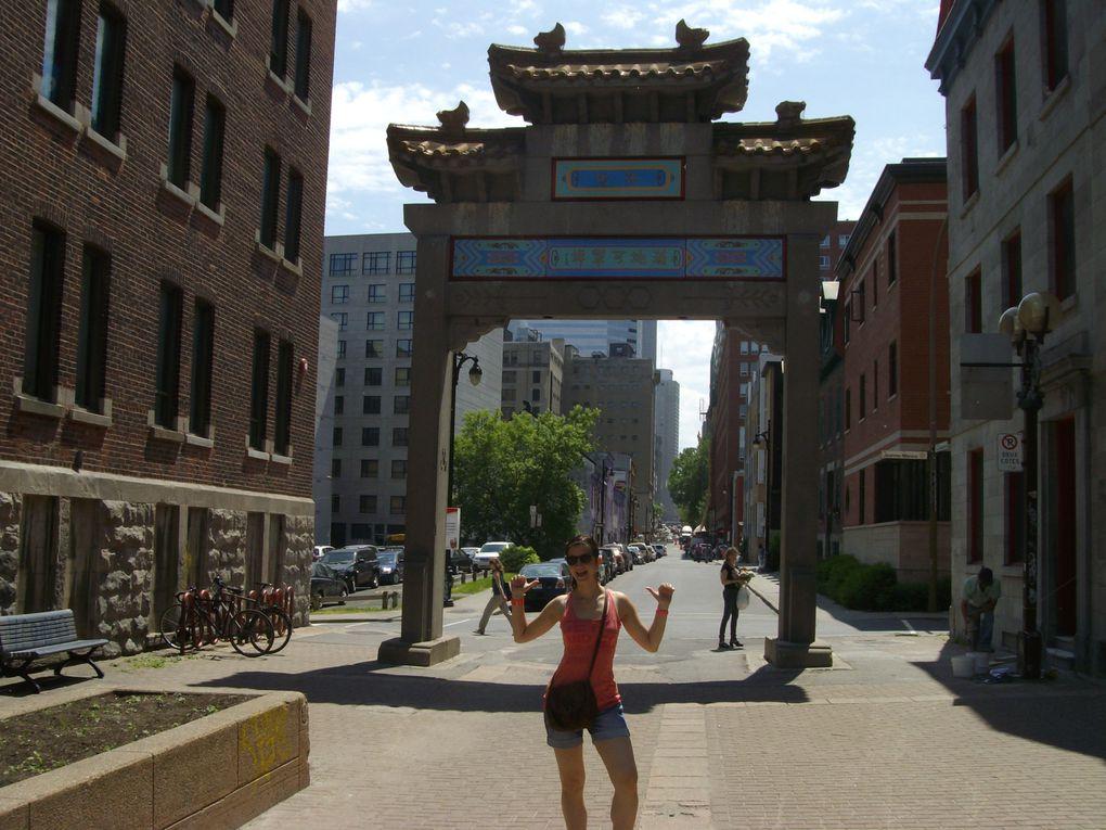 Voici les premières photos de notre arrivée sur Montréal ! :)