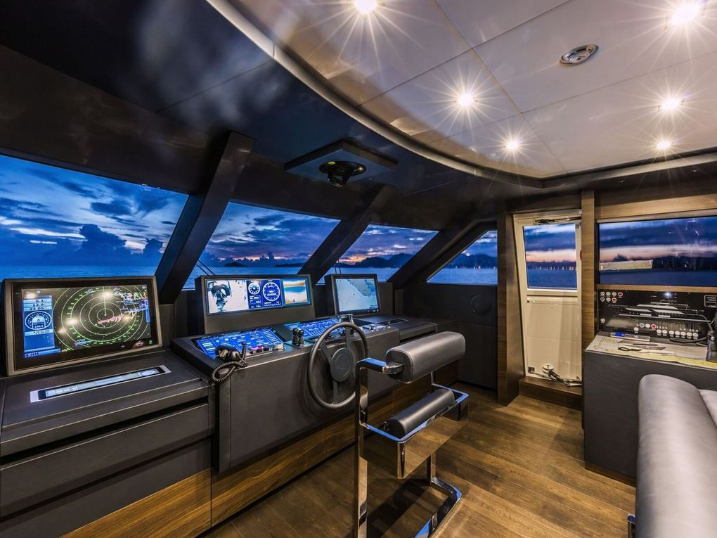 36 yachts with TEAM Italia integrated consoles will be launched in 2019