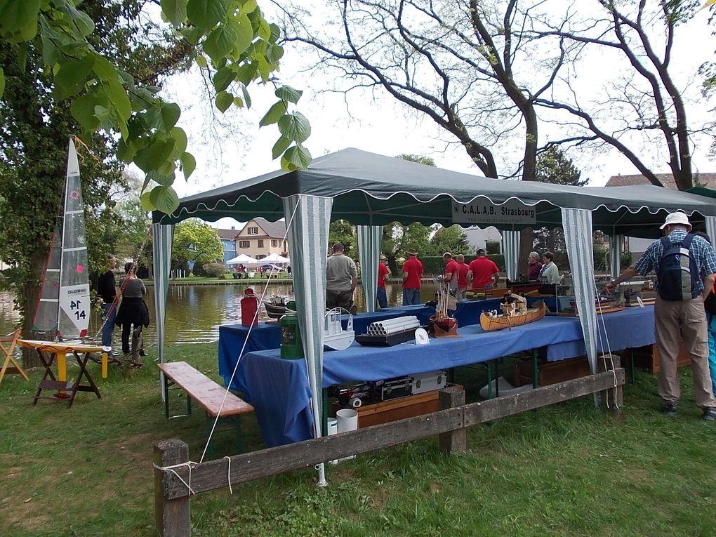 La fête autour du lac chaque 1er mai, c'est devenu une tradition à Entzheim