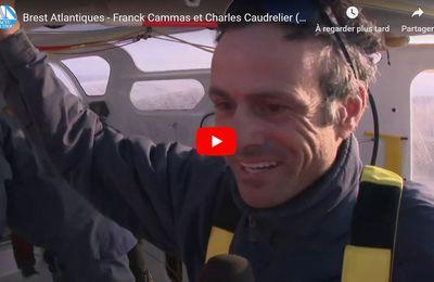 Interview de Franck Cammas et Charles Caudrelier, vainqueurs de la Brest Atlantiques 2019