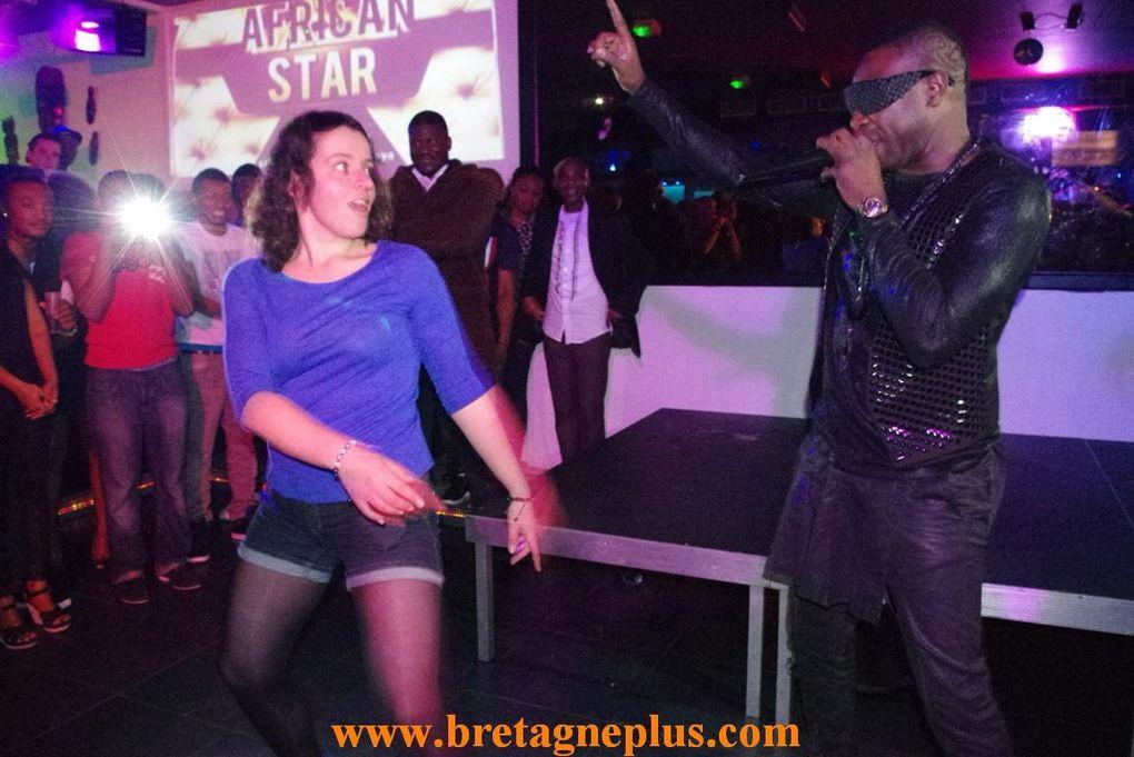 Dans le cadre des soirées AFRICAN STAR, Le Mango Club, à Rennes, accueillait, vendredi 30 novembre, OUDY 1er ,