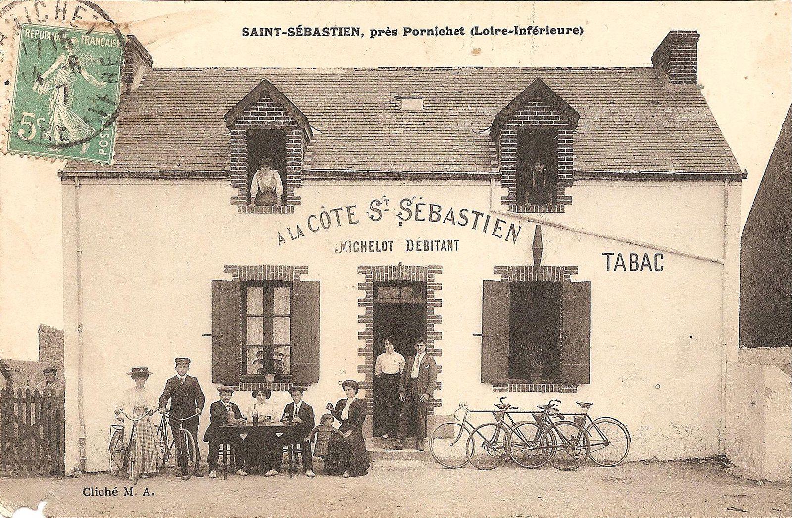 Heureusement pour se désaltérer, après avoir gravi péniblement la Côte de Saint-Sébastien, on peut faire une petite halte à la buvette bien justement nommée...