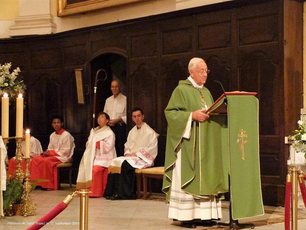 Photos de Maurice Thillet pour la paroisse Notre Dame de  l'Assomption de Saint Tropez.