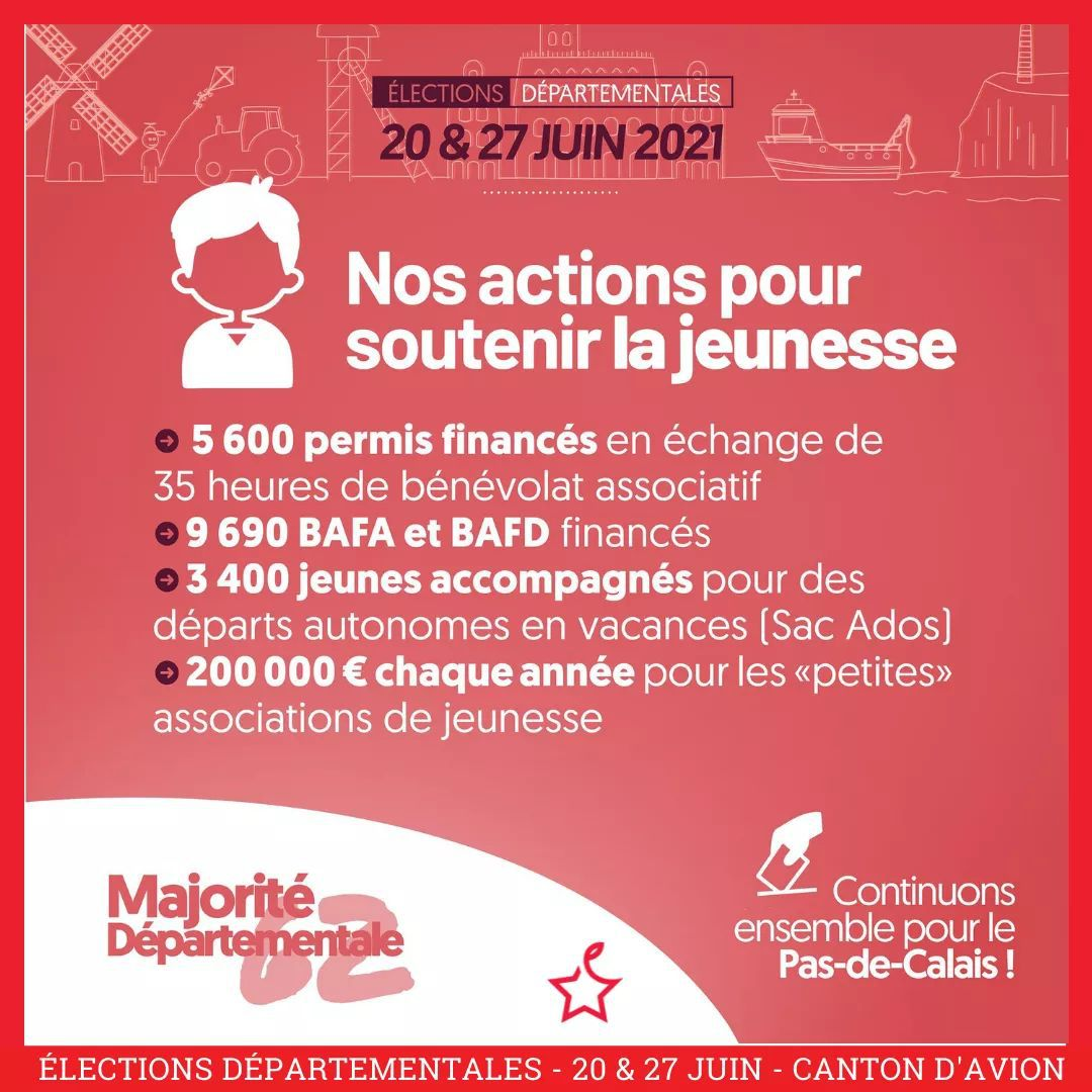 Elections départementales 2021 : les actions des élus PCF et de la majorité de gauche pour soutenir la jeunesse