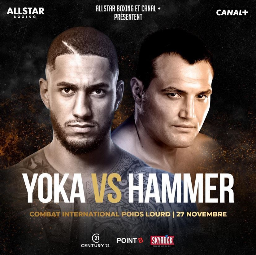 Tony Yoka vs. Christian Hammer en direct vendredi sur Canal Plus !