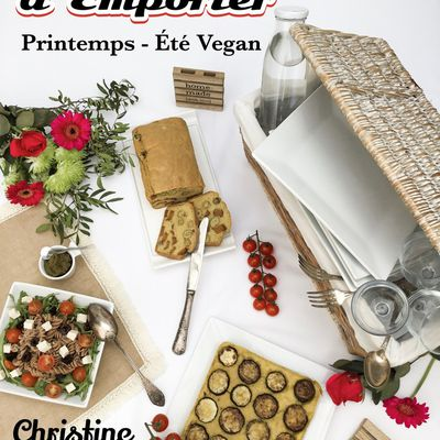 Ebook Sur Place ou A Emporter - Printemps - Eté Vegan