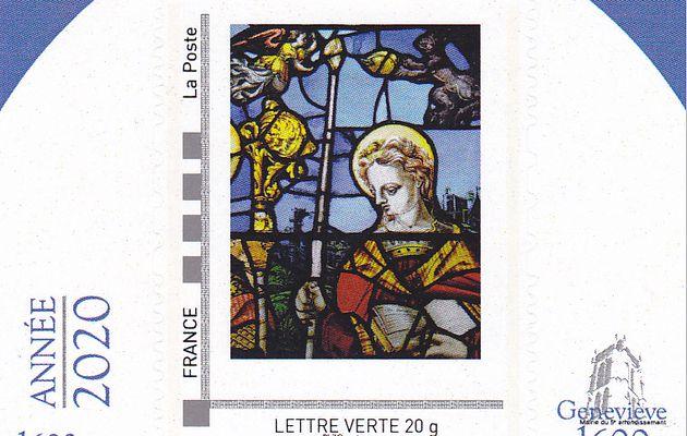 Geneviève 1600: une exposition et un timbre personnalisé
