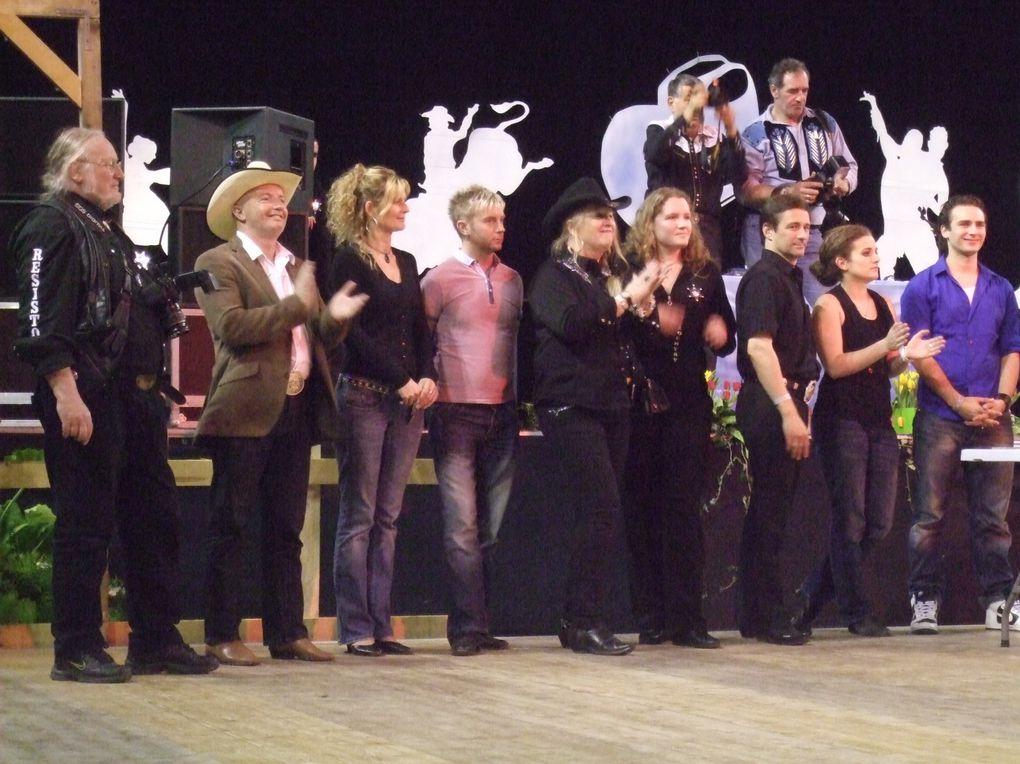 Rencontres Nationales de la country music & dance à Issoudun (36) sous l'égide de la FFCLD