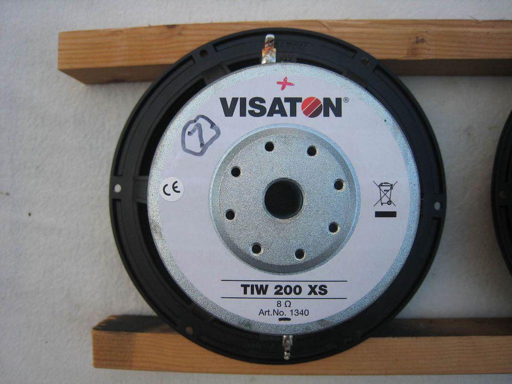 VISATON  TIW 200XS