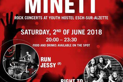 Esch-sur-Alzette « Rock am Minett »  Samedi 2 juin 2018