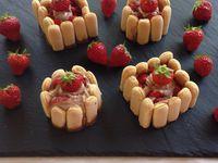 Petites Charlottes express fraises Nutella