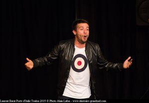 Rencontre avec l'humoriste Laurent Barat