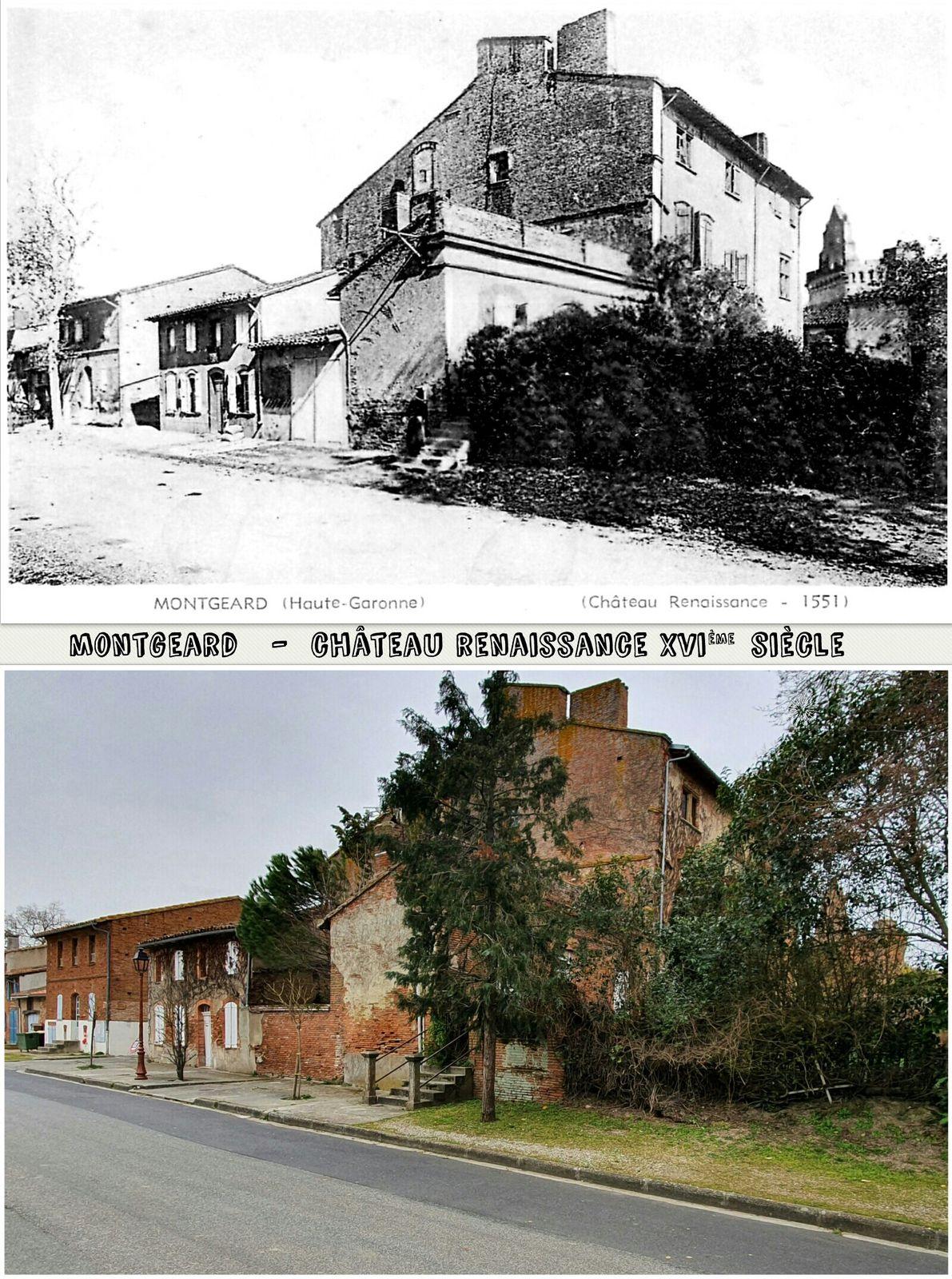 ● Châteaux d'antan & d'aujourd'hui, Lauragais, Hte Garonne.