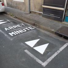 Voirie : respect des 'arrêts minute'