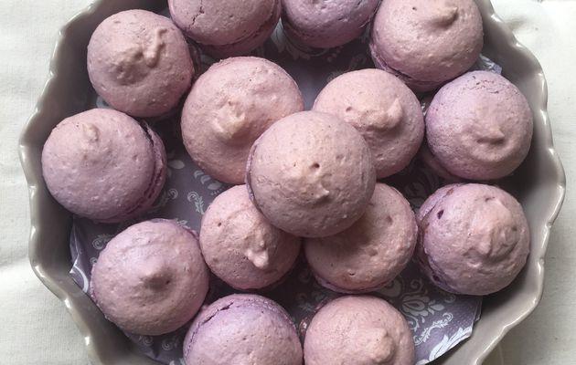 Macarons à la Mûre