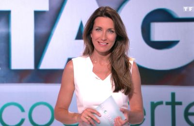 📸4 ANNE-CLAIRE COUDRAY @ACCoudray @TF1 pour REPORTAGES DECOUVERTE ce midi #vuesalatele