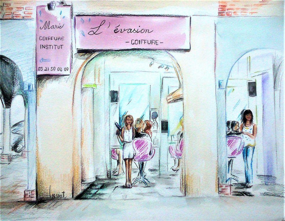 MERCI A TOUS DE LEURS COMMANDES DE 1 A 5 AQUARELLES !!! : KARINE EDS - PHARMACIE SEMENT - ATELIER DU SIEGE - LE BAILLY - BAMBINO SHOES - BOUCHERIE GUILLAUME MERCIER - BOUCHERIE VAURETTE - CAFE PAUL - CH'TI CHARIVARI - STEPHANE PICOT - L'AMBASSADE - DR RANDRIAMORA - COEUR DE FLEURS - SALON PASCAL BECUWE - LE PASSE-TEMPS - ESTHETI'CANIN - CORDONNERIE FEREZ - PLACE O REVES - JEAN JAC COIFFEUR - LA PRAIRIE - L'ARRAS BAR - LE SAINT PIERRE - LEROY FLEURS - LES ARISTOCHIENS - L'EVASION COIFFURE - NOTTING HILL COFFEE - SHI ZEN TOILETTAGE - ZANUTTINI - MERCERIE HOLLANDE - PHARMACIE SEMENT - BAOBAB KFE - MONTE SILVANO - MARIANNICK DU CHIQUITO -  MR DELANNOY - Mr MILOSZYK - MRS LOUISE WEBSTER- MME TRON DE BOUCHONNY- AU SAVONNIER