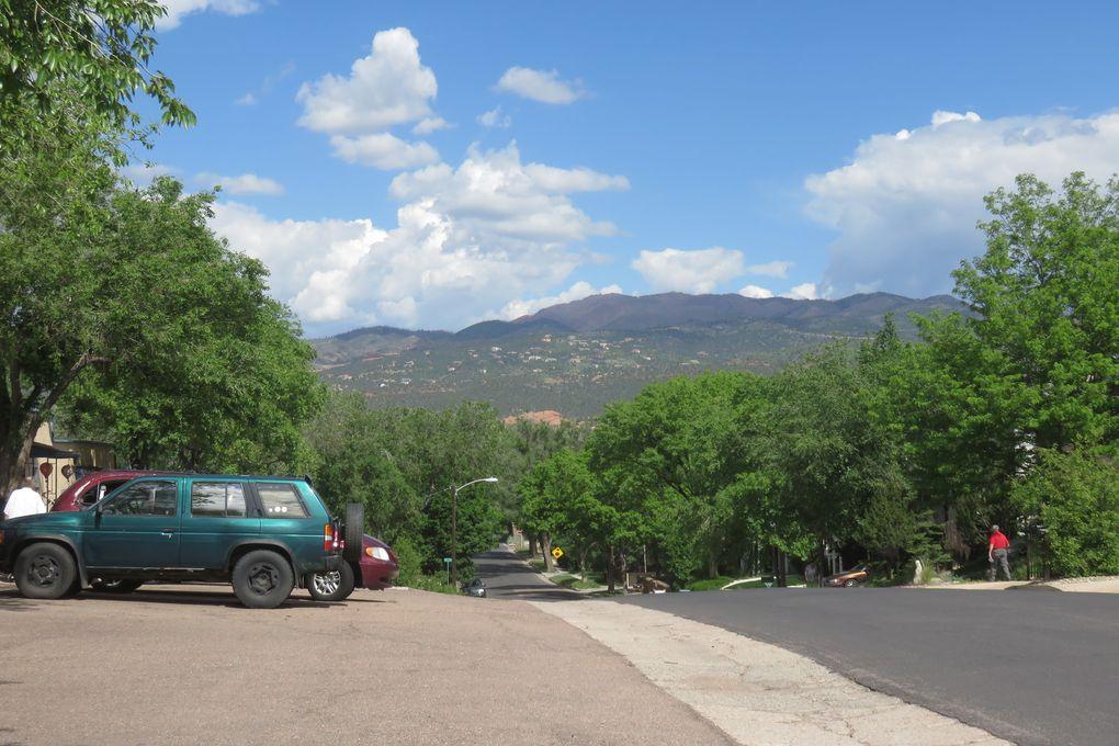 Jour 2 - COLORADO SPRINGS - Old colorado City / Garden of the Gods