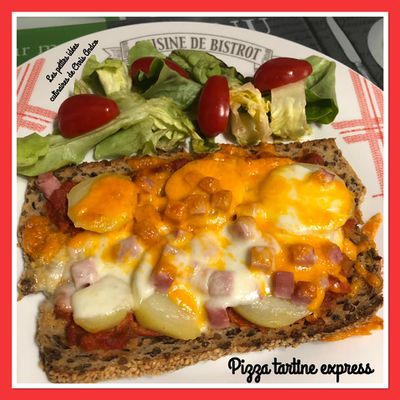 Pizza tartine express