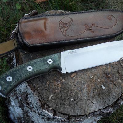 étui custom pour couteau de camp néoczen